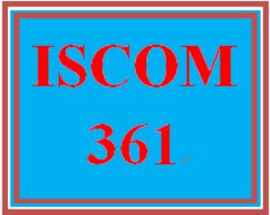 ISCOM 361 Week 2 Video Analysis | eBooks | Education