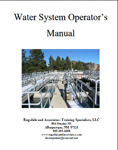 rats water system operator's  manual