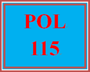 POL 115 Week 5 Electoral College Simulation Exercise Worksheet | eBooks | Education