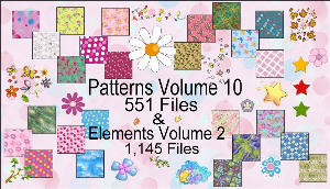 paint shop pro elements & patterns pack 2