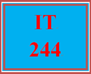 IT 244 Week 7 Individual: Understand and Apply Fundamental Concepts of Cryptography | eBooks | Education