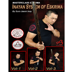 inayan system of escrima 3 dvd set