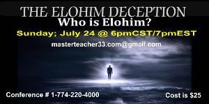 the elohim deception