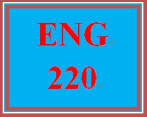 ENG 220 Week 3 Prewriting Worksheet | eBooks | Education