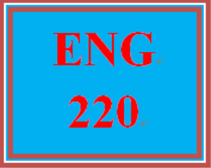 ENG 220 Week 5 Comparison-Contrast Essay Final Paper and Presentation | eBooks | Education