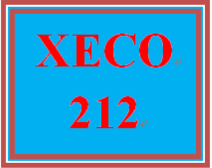 xeco 212 week 6 money