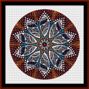Fractal 572 cross stitch pattern by Cross Stitch Collectibles | Crafting | Cross-Stitch | Wall Hangings