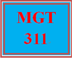 mgt 311 week 2 employee portfolio: management plan