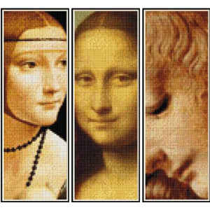 DaVinci Bookmark Collection - cross stitch patterns by Cross Stitch Collectibles | Crafting | Cross-Stitch | Other