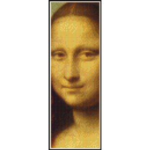 Mona Lisa Bookmark  - DaVnci cross stitch pattern by Cross Stitch Collectibles | Crafting | Cross-Stitch | Other