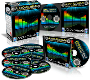 audio alchemy resell rights music and sound effects collection