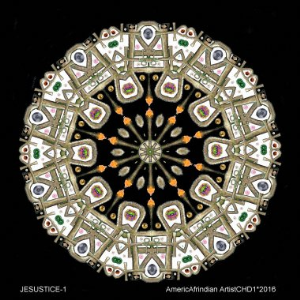 JESUSTICE-1 Kaleidoscope 251 | Photos and Images | Digital Art