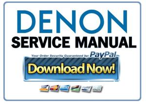 denon avr 2805 985 avc 2890 service manual ebooks technical rh store payloadz com Denon Remote AVR -2800 Remote for Denon AVR-2805