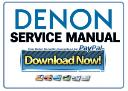 Denon AVR-X520BT S510BT Receiver Service Manual | eBooks | Technical