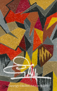"""Claude's Art : Collection """"Papiers Froissés"""" Dessin # 70G HD 
