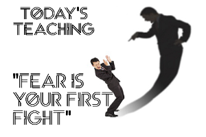 Fear Is Your First Fight! | Audio Books | Religion and Spirituality