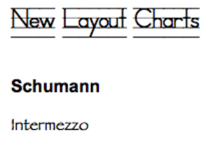 schumann: intermezzo