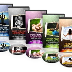 meditation 5 disk collection (mp3 format)