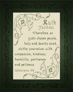 Name Blessings - Ruth 2 | Crafting | Cross-Stitch | Religious