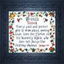 Name Blessings - Brenda | Crafting | Cross-Stitch | Religious