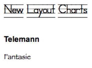 telemann: fantasie