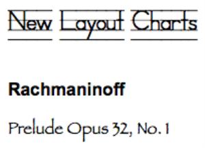 rachmaninoff: prelude op. 32, no. 1