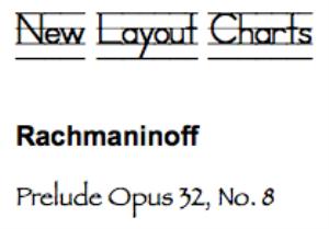 rachmaninoff: prelude op. 32, no. 8