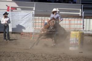 sharp turn horse and rider