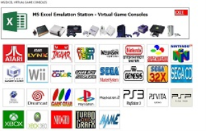 excel virtual retro console