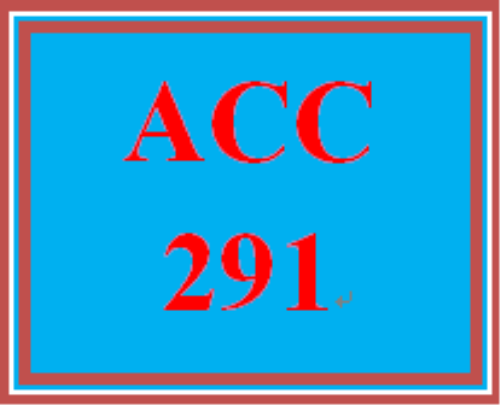 First Additional product image for - ACC 291 Week 4 Financial Ratios – For Discussion
