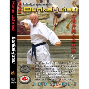 patrick mccarthy vol-3 (3 video set) koryu uchinadi - bunkai-jutsu