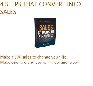 4 steps that convert into sales