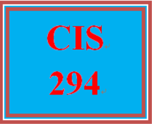 CIS 294 Week 5 Individual: Support Portfolio – Network Troubleshooting and Final Submission | eBooks | Education