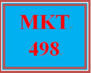 MKT 498 Week 5 Integrated Marketing Communications (IMC) Plan | eBooks | Education