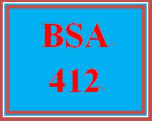 BSA 412 Week 4 Learning Team: eSoft System Model Preparation | eBooks | Education