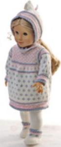 dollknittingpattern 0153d marthe - dress, pants, cap and socks-(english)