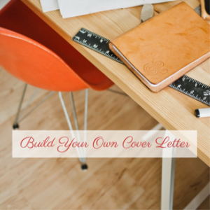 diy cover letter training