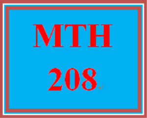 MTH 208 Week 1 participation Resources | eBooks | Education