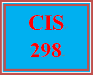 cis 298 week 3 individual: designing an it operation