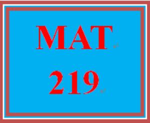 MAT 219 Week 2 participation Solving Linear Equations | eBooks | Education