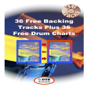 36 FREE Backing Tracks -  Plus 36 FREE Drum Charts | Music | Instrumental