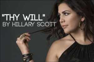 thy will hillary scott arranged for vocal, full strings and band
