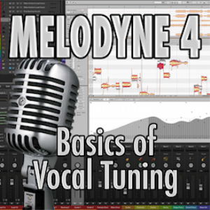 melodyne 4 - basics of vocal tuning (video tutorial)