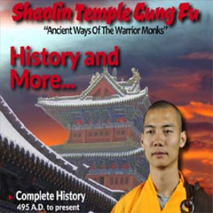 shaolin temple-vol-1-history and more