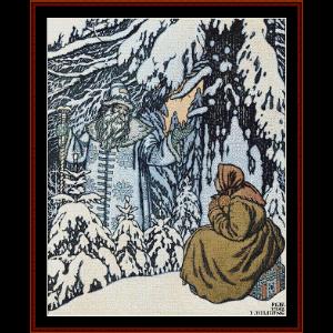 Father Forest - Bilbin cross stitch pattern by Cross Stitch Collectibles | Crafting | Cross-Stitch | Wall Hangings