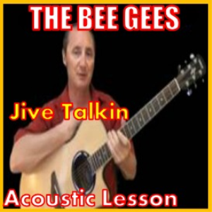 learn to play jive talking by the bee gees