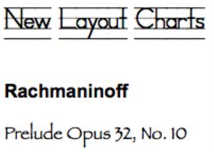 rachmaninoff: prelude op. 32, no. 10
