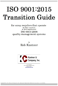iso 9001:2015 transition guide for scrap recyclers