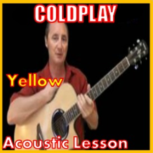 learn to play yellow by coldplay