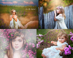 phenom photoshop elements bundle- actions + overlays